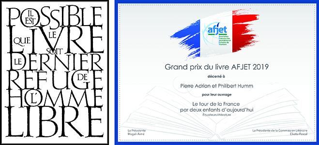 Grand Prix du Livre AFJET 2020